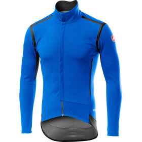 Castelli Perfetto Rain Or Shine Long Sleeve Jacket Men drive blue